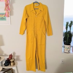 Big Bud Press Everyday Jumpsuit - Yellow - Size L